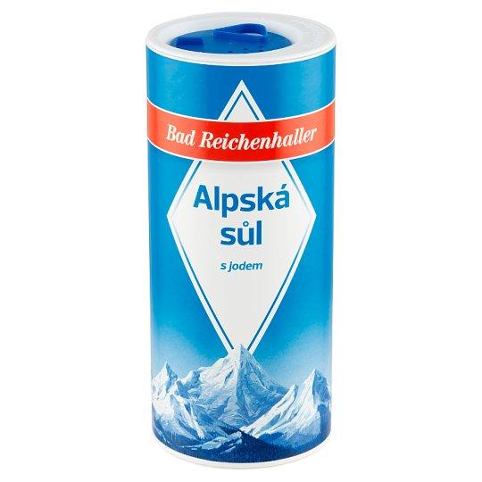 Bad Reichenhaller Alpine Salt with Iodine 500g