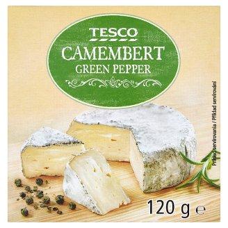 Tesco Camembert se zeleným pepřem 120g