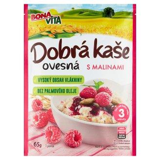 Bona Vita Dobrá kaše Original Oatmeal Porridge Raspberry 65g