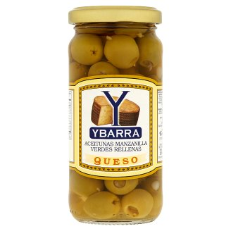 Ybarra Queso olivy plněné sýrem 240g