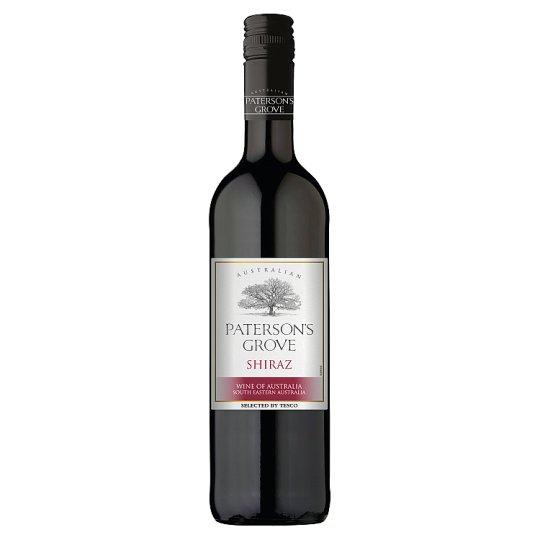 Paterson's Grove Shiraz víno červené suché 750ml