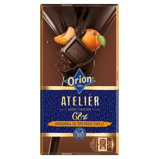 ORION Extra Dark Apricot Chilli 100g