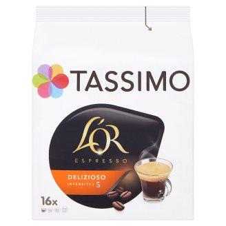 Tassimo L'OR Espresso Delizioso káva pražená mletá 16 x 6.5g