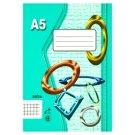 Papírny Brno 565e Squared Workbook A5 60 Sheets