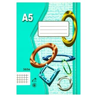 Papírny Brno 565e školní sešit A5 čtverečkovaný 60 listů