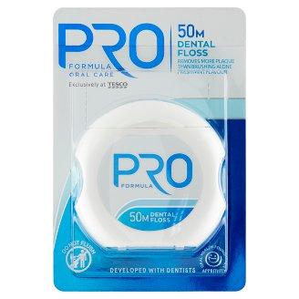 Tesco Pro Formula Zubní nit 50m