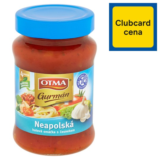 Otma Gurmán Neapolitan Sauce with Garlic 350g