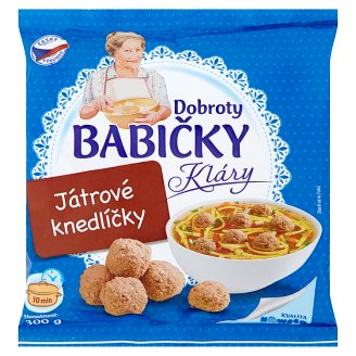 Dobroty Babičky Kláry Liver Dumplings 300g