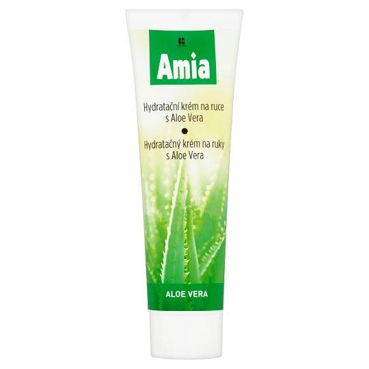 Amia Moisturizing Hand Cream with Aloe Vera 100ml