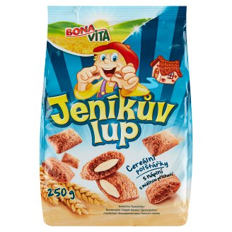 Bona Vita Jeníkův lup Cereal Pillows with Milk Flavor Filling 250g