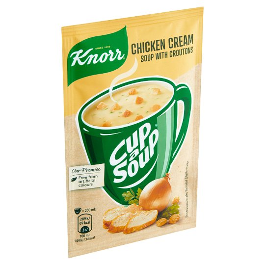 Knorr Cup a Soup Chicken Cream Soup with Croutons 16g