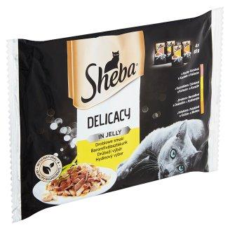 Sheba Drůbeží výběr kompletní krmivo pro dospělé kočky 4 x 85g