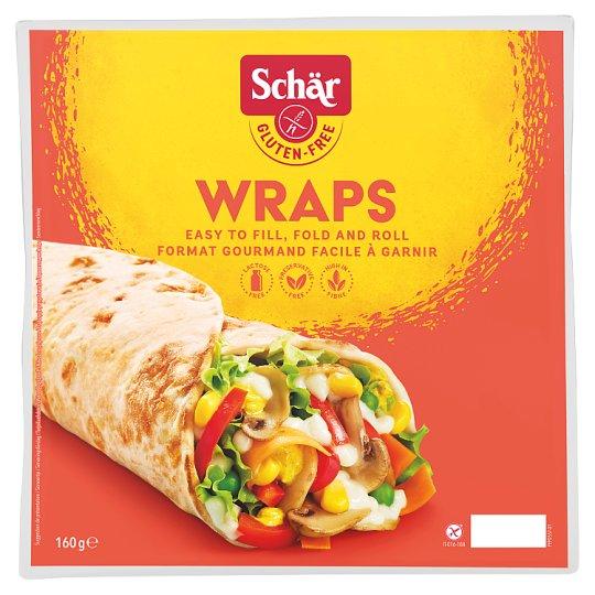 Schär Wraps pečivo speciální bez lepku 2 x 80g