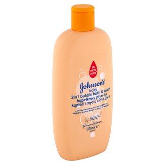 Johnson's Baby 2in1 Bubble Bath & Wash 500ml