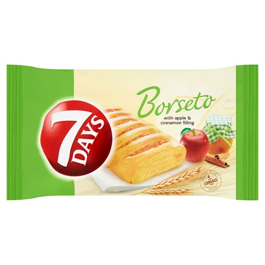 7 Days Borseto with Apple and Cinnamon Filling 60g