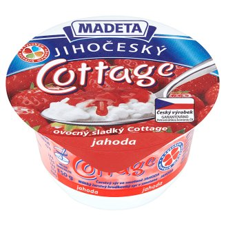 Madeta South Bohemian Cottage Strawberry 150g