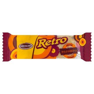 Chocoland Retro Sójová tyčinka rozinková 40g
