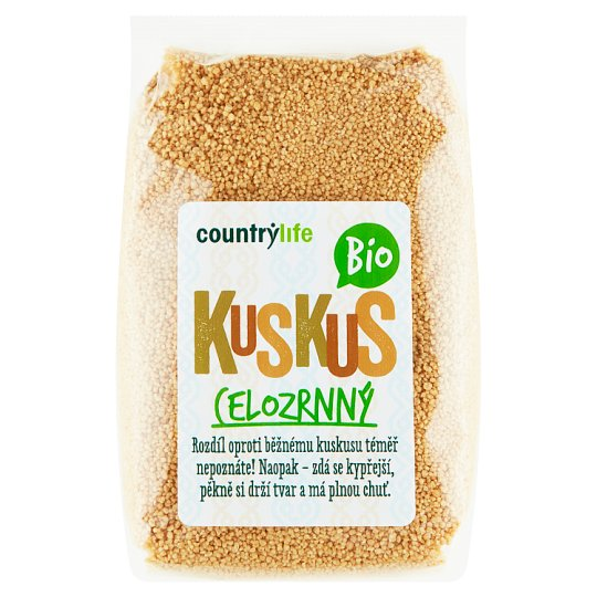 Country Life Organic Whole Wheat Couscous 500g