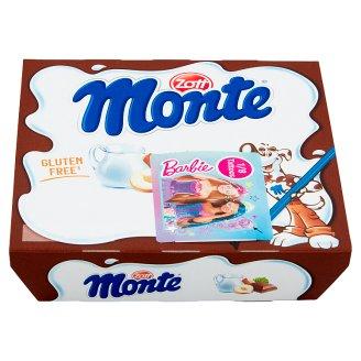 Zott Monte Mléčný dezert čokoládový s lískovými oříšky 4 x 55g