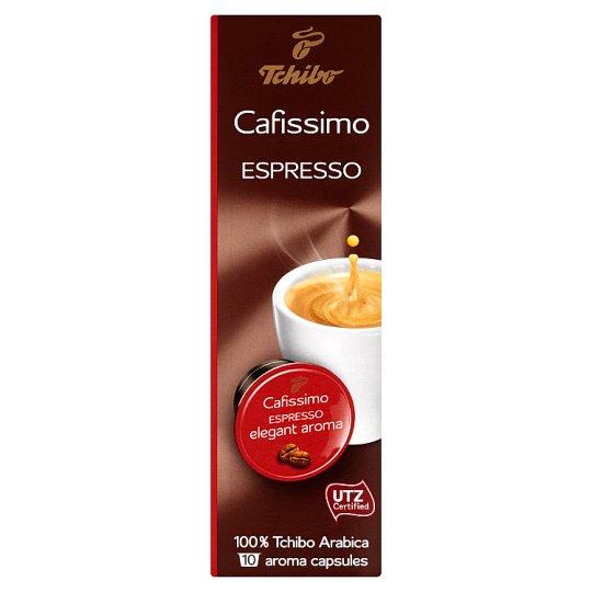 Tchibo Cafissimo Espresso Roast Ground Coffee 10 x 7g