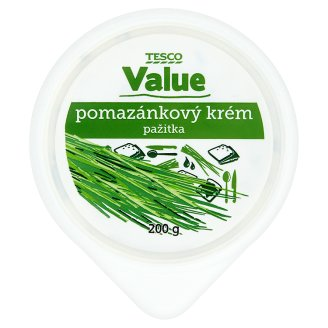 Tesco Value Spread Cream Chives 200g