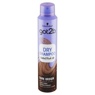 got2b Fresh it Up suchý šampon pro hnědé vlasy 200ml