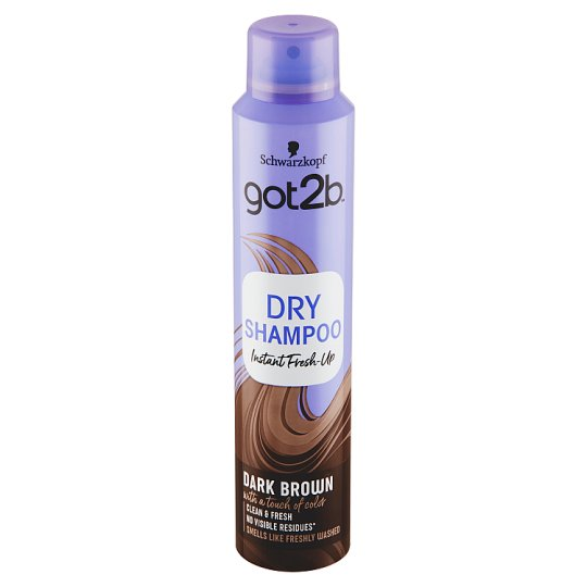 got2b Fresh it Up suchý šampon pro tmavě hnědé vlasy 200ml