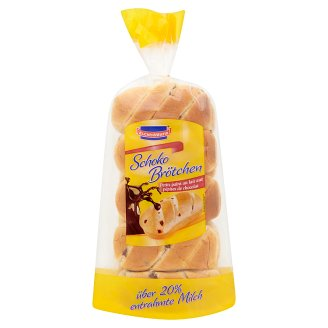 Kuchen Meister Buns with Milk Chocolate Pieces 400g