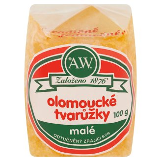 A.W. Olomouc Ripened Cheese Fat Free Small 100g