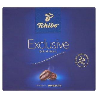 Tchibo Exclusive Pražená mletá káva 2 x 250g