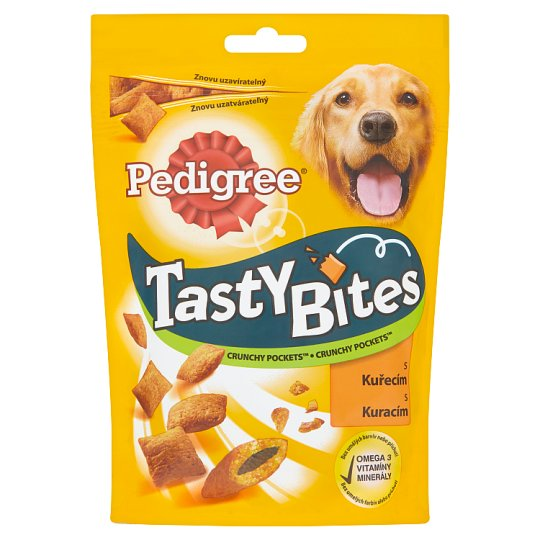 Pedigree Tasty Bites Crunchy Pockets s kuřecím 95g