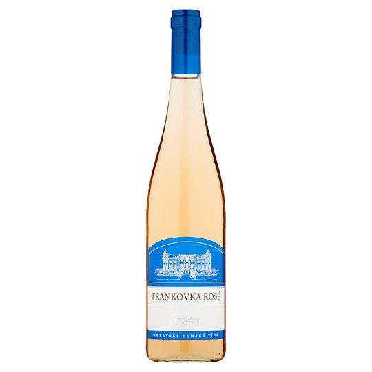 Vinné sklepy Milotice Blaufränkisch Rosé Moravian Country Wine Rose Semi Dry 0.75L