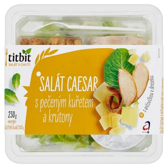 Titbit Caesar Salad with Roasted Chicken and Croutons 230g