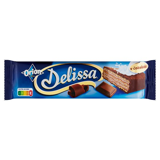 ORION Delissa Wafer with Cocoa Filling Dipped in Milk Chocolate 33g
