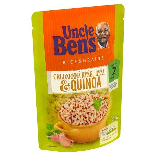 Uncle Ben's Celozrnná rýže & quinoa 220g
