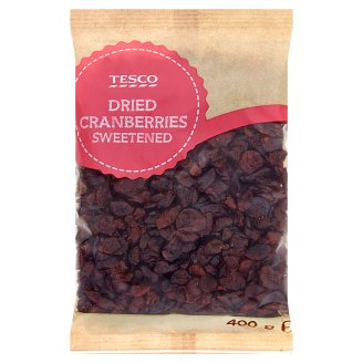 Tesco Dried Cranberries Sweetened 400g