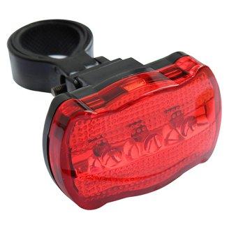 Tesco Zadní LED světlo na kolo 3 funkce