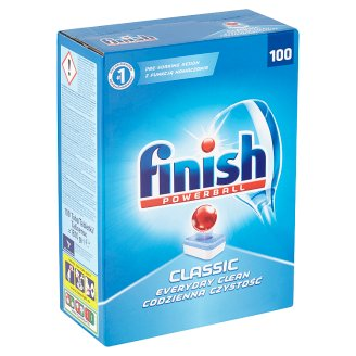 Finish Powerball Classic Dishwasher Tablets to 100 pcs 1810g