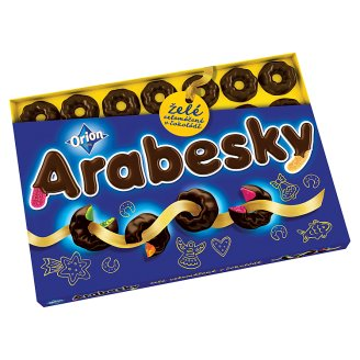 ORION Arabesques Dipped Jelly 440g