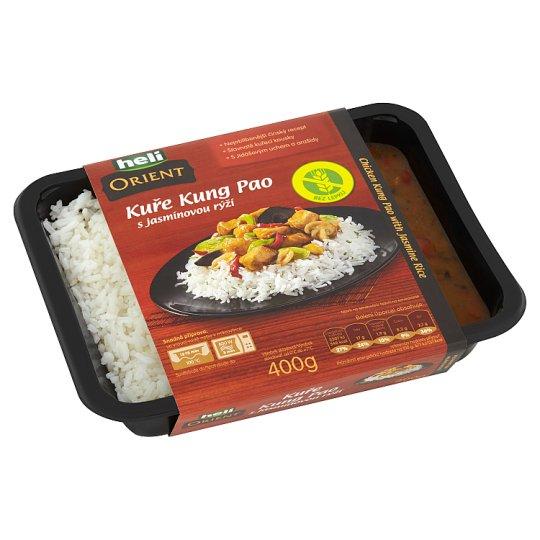 Heli Orient Kuře Kung Pao s jasmínovou rýží 400g