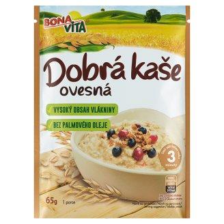 Bona Vita Dobrá Kaše Original Oatmeal Porridge Natural 65g
