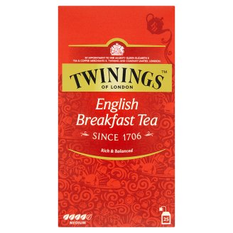 Twinings English Breakfast Black Tea 25 x 2g