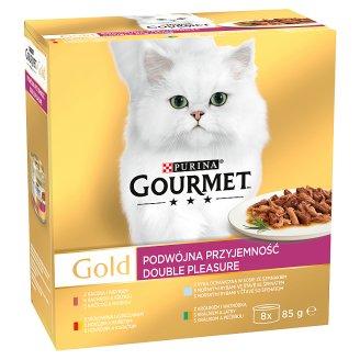 GOURMET Gold Double Pleasure Multipack 8 x 85g