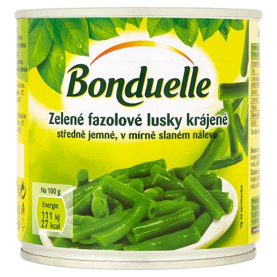 Bonduelle Zelené fazolové lusky krájené 400g