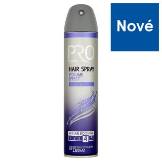 Tesco Pro Formula Volume Effect lak na vlasy 250ml