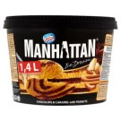 Manhattan Ice Dream Frozen Chocolate-Caramel with Bits of Roasted Peanuts 1400ml