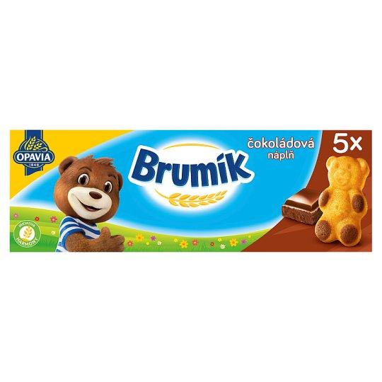 Opavia Brumík Čokoládová náplň 5 ks 150g