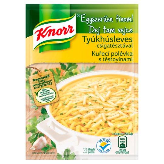 Knorr Dej Tam Vejce Kuřecí polévka s těstovinami 40g