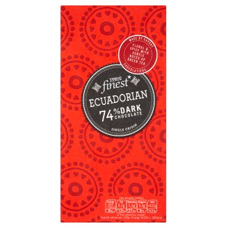 Tesco Finest Ecuadorian Chocolate100g