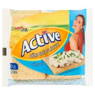 Bona Vita Active Crisp Slices Cheese 10 pcs 70g
